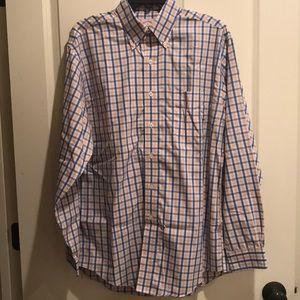 Brooks Brothers Dress Shirt-Medium